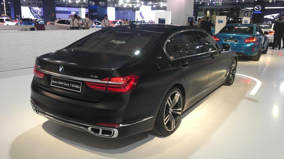 Coches más espectaculares Salón de Barcelona: BMW M760Li Individual