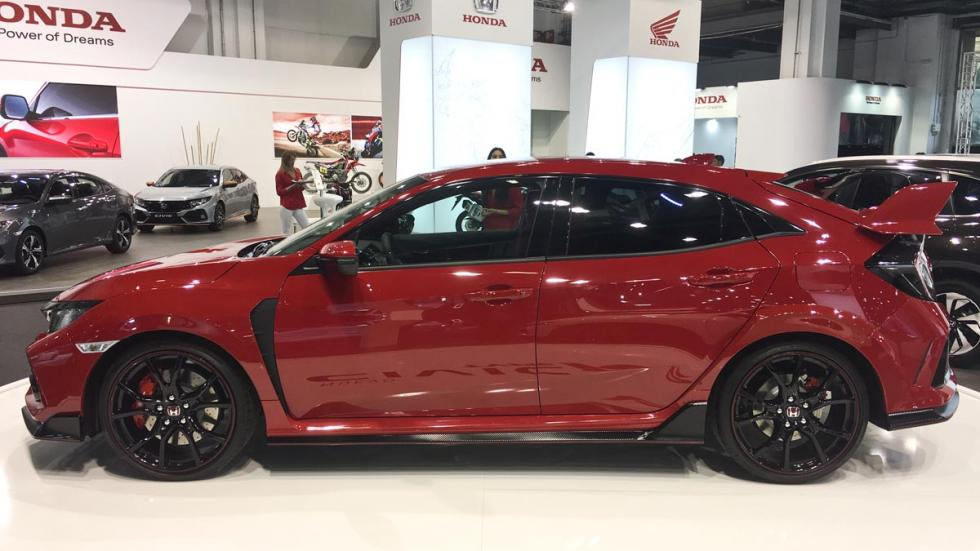 Coches más espectaculares Salón de Barcelona: Honda Civic Type-R 2017