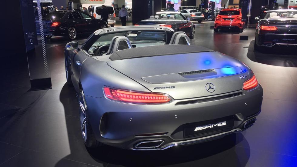 Coches más espectaculares Salón de Barcelona: Mercedes-AMG GT C Roadster