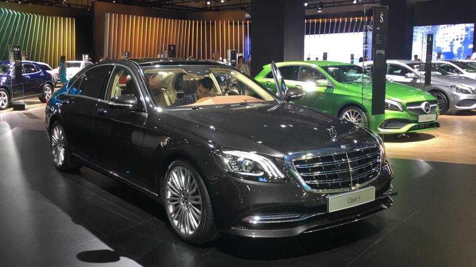 Coches más espectaculares Salón de Barcelona: Mercedes Clase S 2017