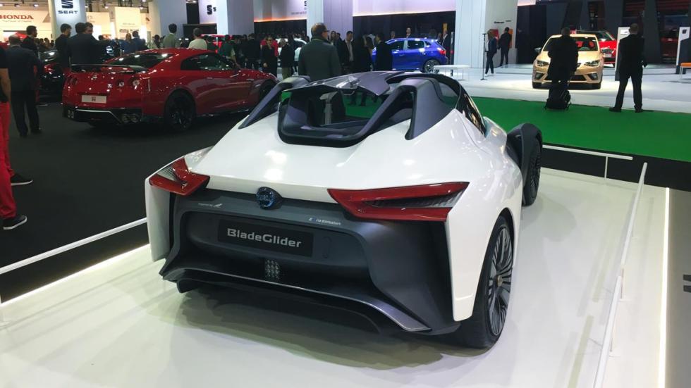 Coches más espectaculares Salón de Barcelona: Nissan Blade Glider