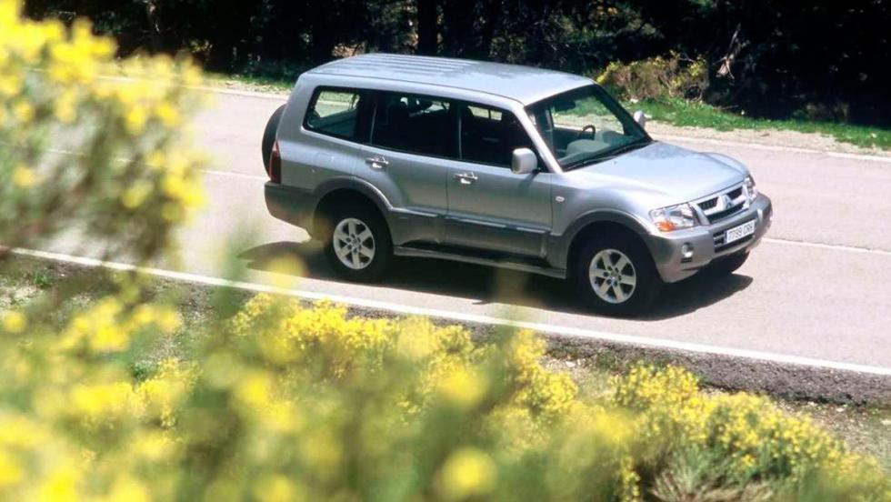 Coches mejores con motor diésel: Mitsubishi Montero (I)