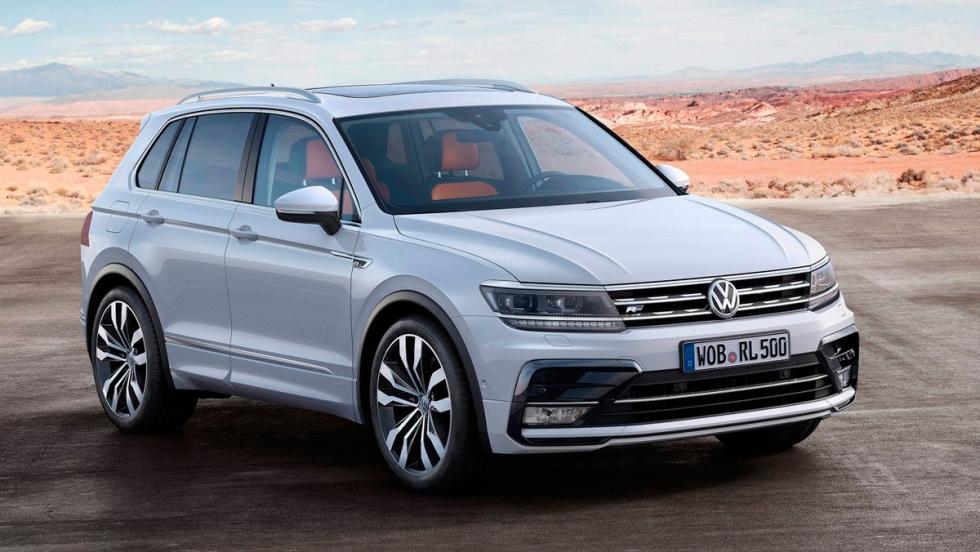 Coches mejores con motor diésel: VW Tiguan (I)