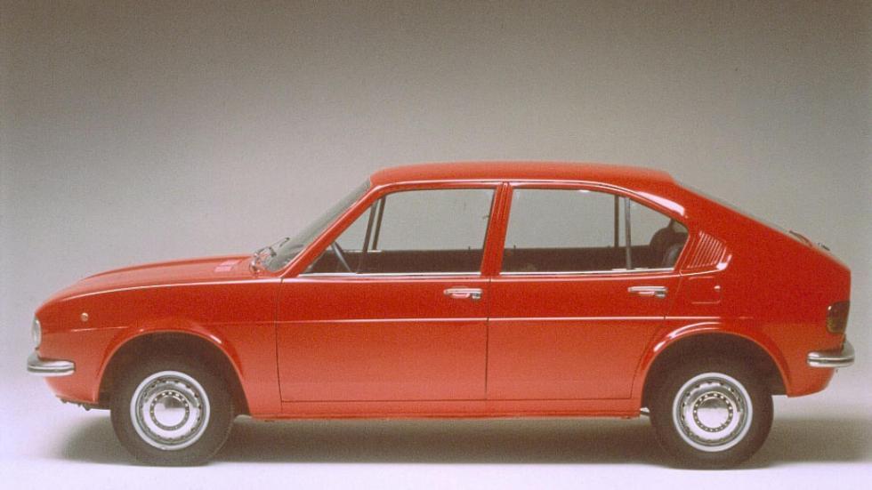 Coches con motor bóxer: Alfa Romeo Alfasud (II)