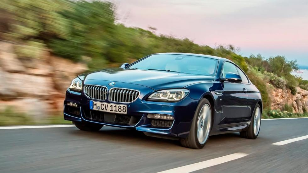 Coches obsoletos: BMW Serie 6 coupe lujo