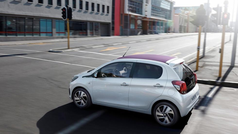 Coches urbanos 2017 - Peugeot 108