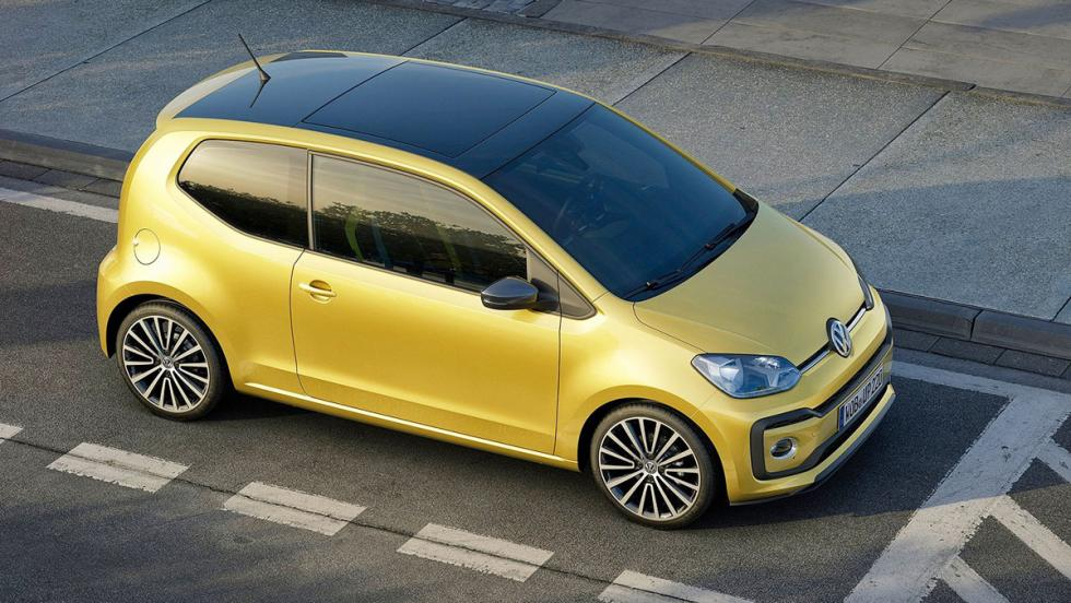 Coches urbanos 2017 - Volkswagen Up!