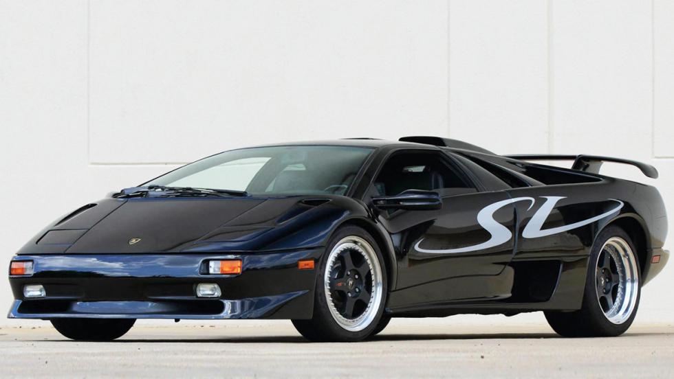 Las ediciones más especiales del Lamborghini Diablo - Diablo SV (1995)