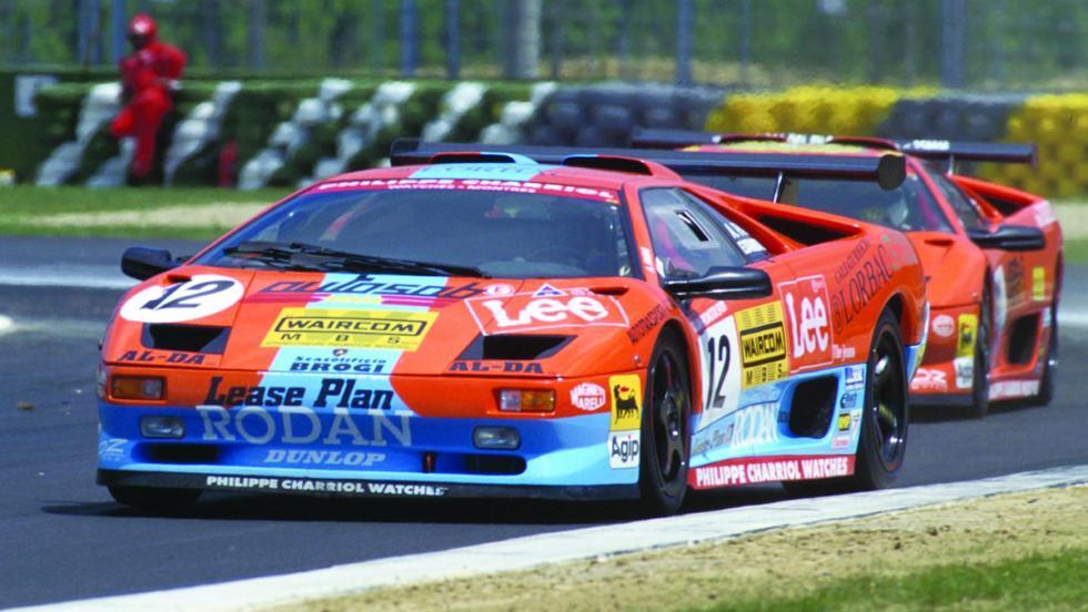 Las ediciones más especiales del Lamborghini Diablo - Diablo SV-R (1996)