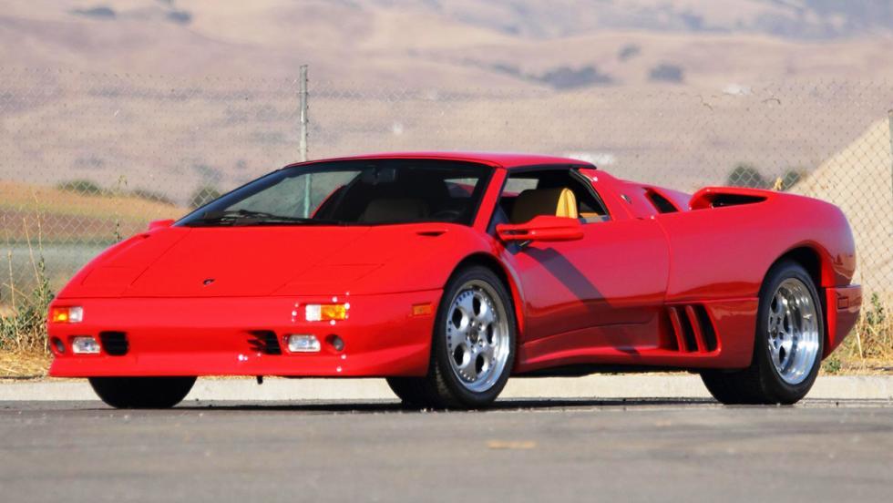 Las ediciones más especiales del Lamborghini Diablo - Diablo VT Roadster (1995)