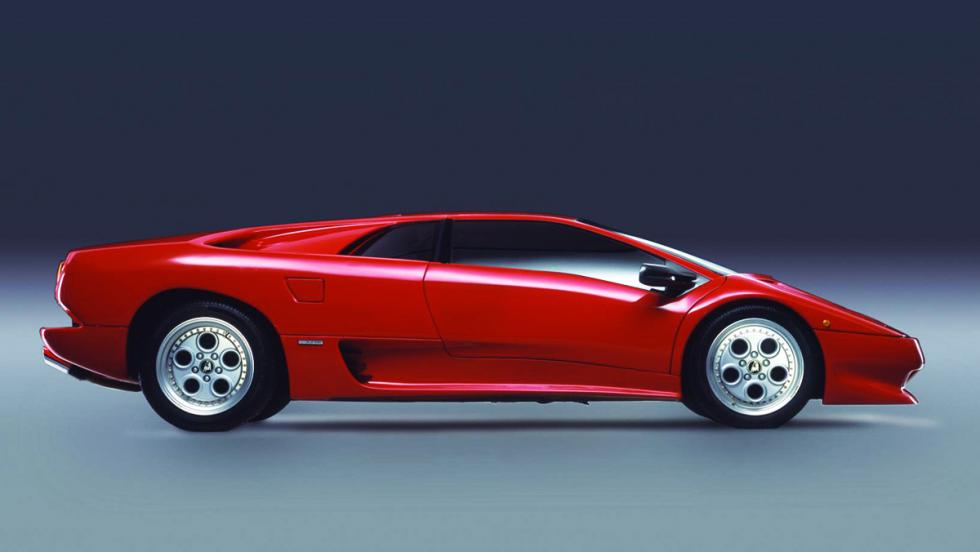 Las ediciones más especiales del Lamborghini Diablo - Modelo original