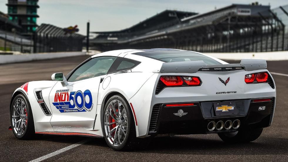 Espectacular parte trasera delChevrolet Corvette Grand Sport