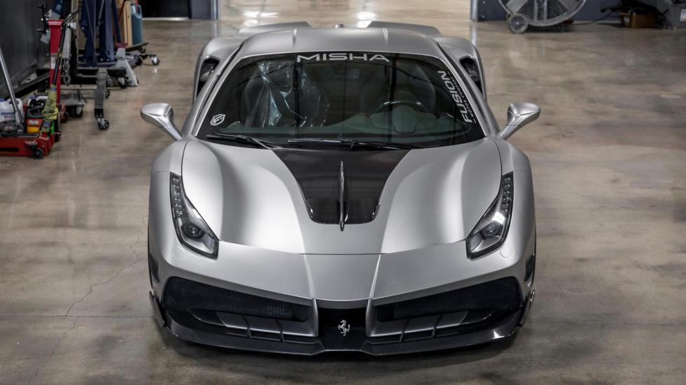 Ferrari 488 GTB by Misha Design preparacion deportivo lujo