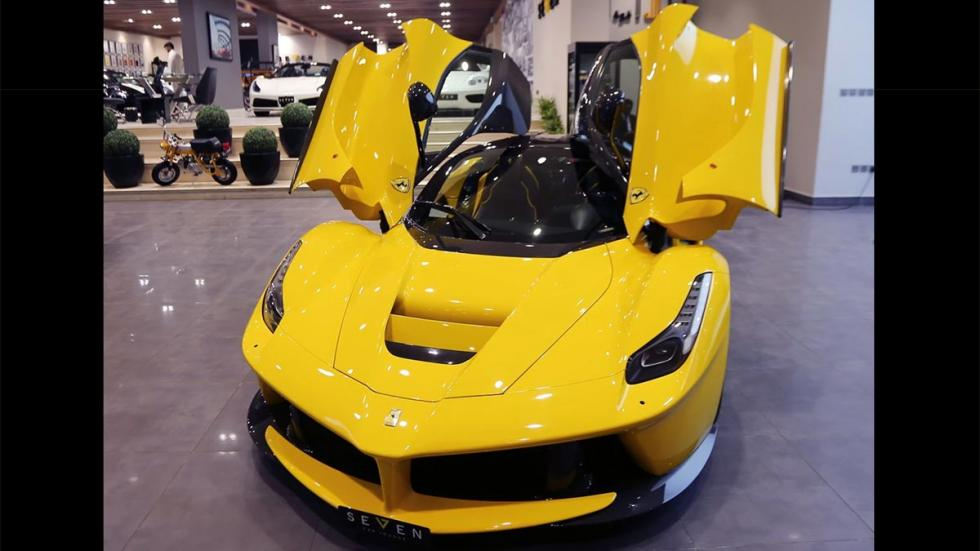 Ferrari LaFerrari a la venta amarillo hiperdeportivo