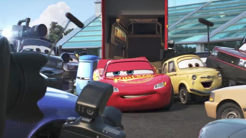 Imágenes del tráiler oficial de Cars 3