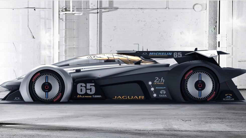 Jaguar SS 107 Le Mans (III)