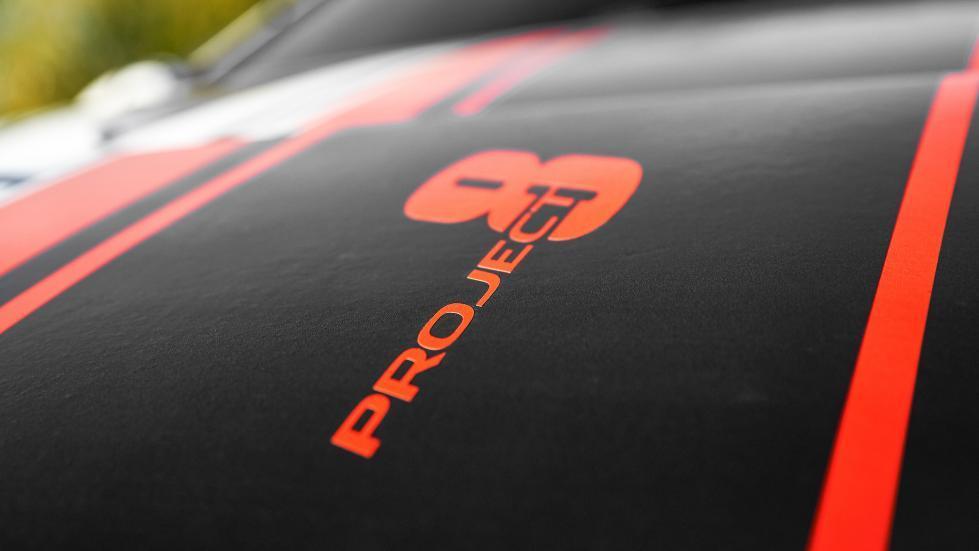 Jaguar XE Project 8 detalle
