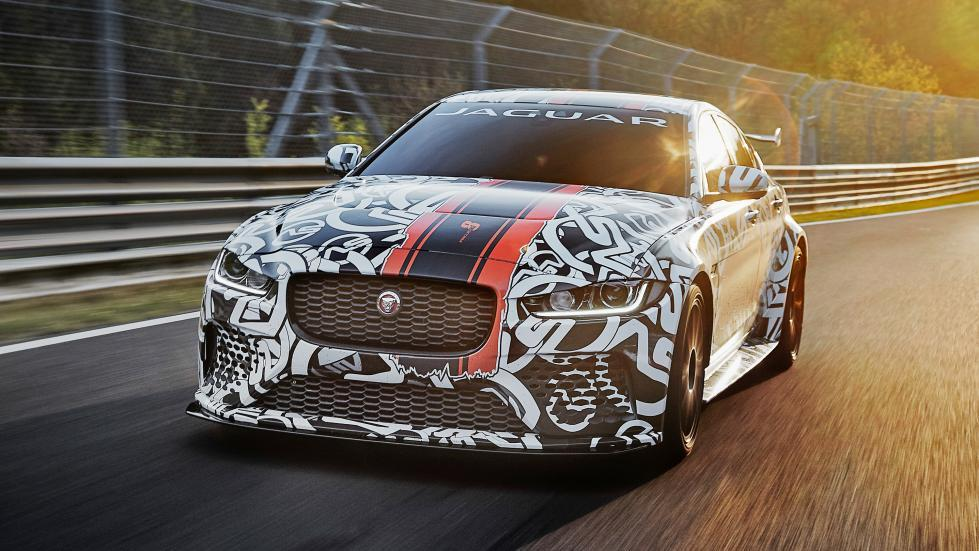 Jaguar XE Project 8 en Nürburgring