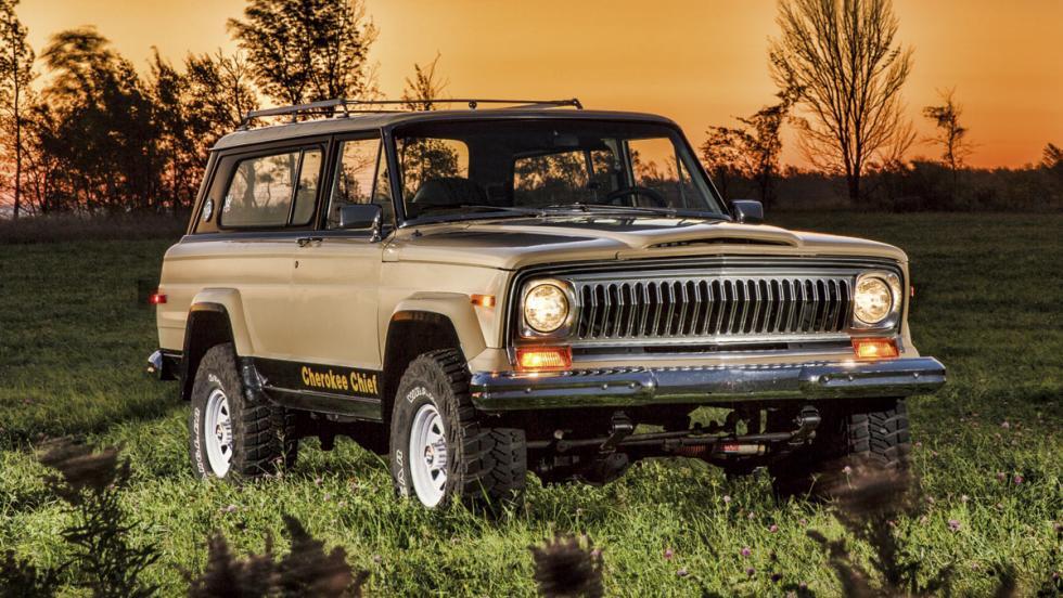 Jeep Cherokee SJ (1974-83)
