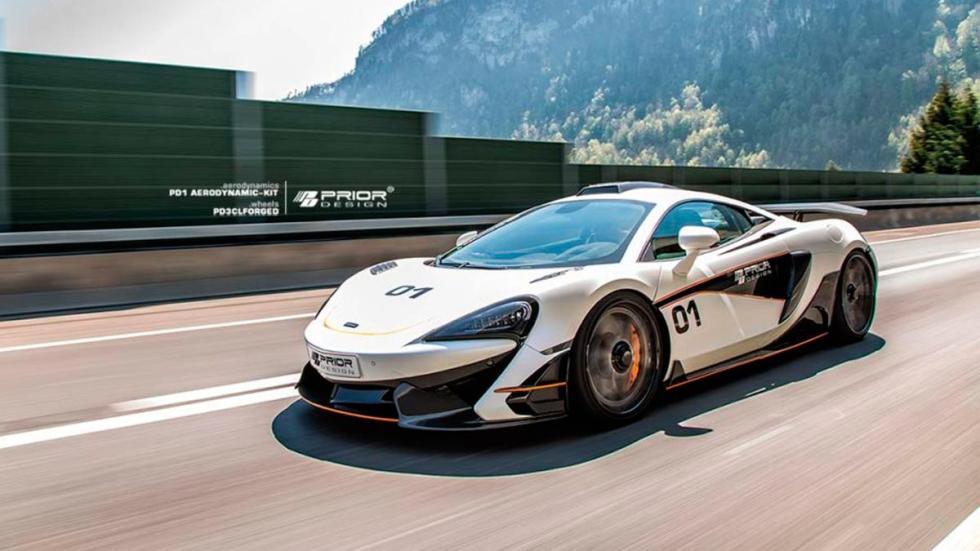 McLaren 570S Prior Design PD1 deportivo preparaciones lujo