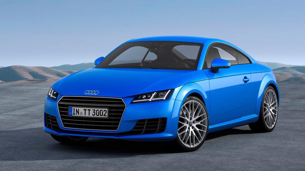 Mejor gasolina: Audi TT deportivo coupé diésel