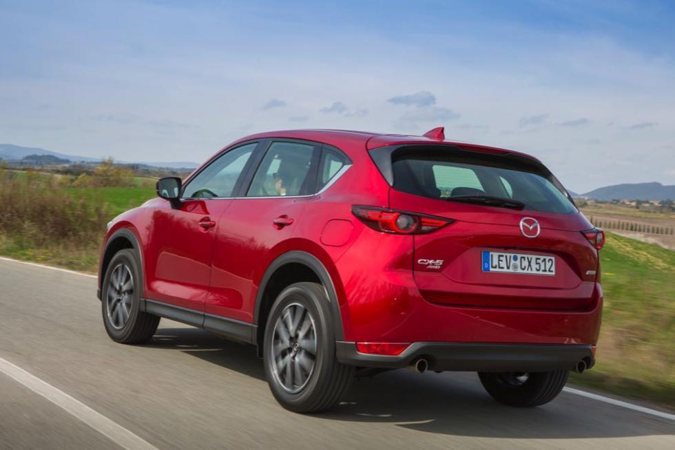 Mejor gasolina: Mazda CX-5 2017 Skyactiv-G suv