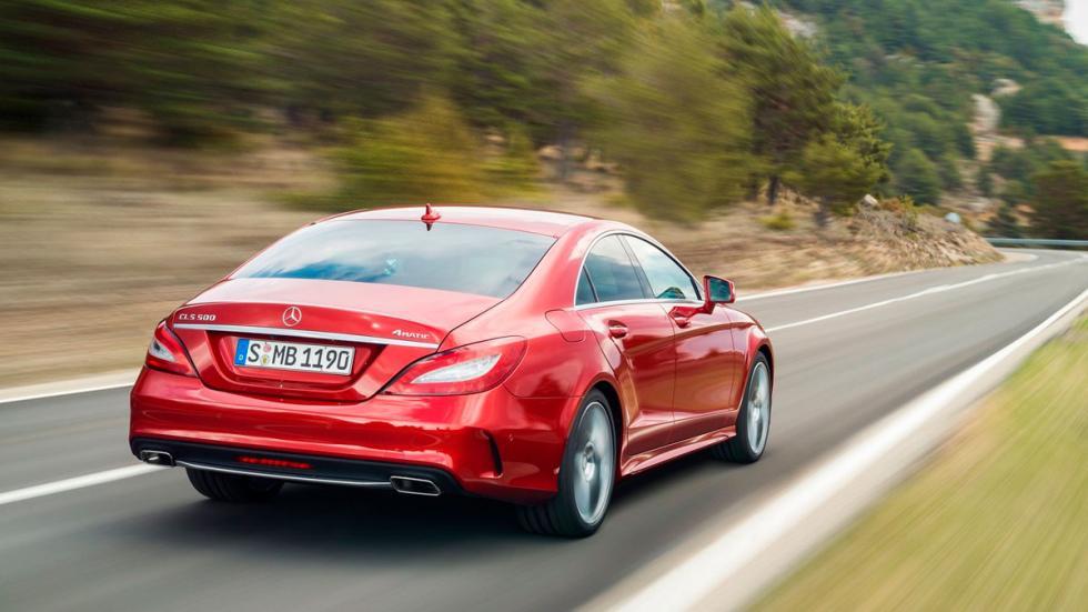 Mejor gasolina: Mercedes CLS sedán deportivo lujo