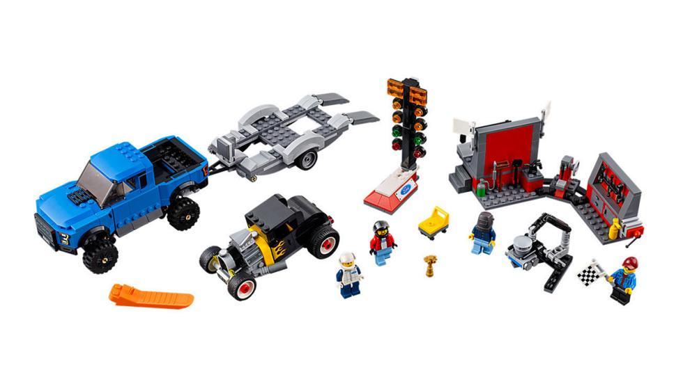Los mejores coches de Lego por menos de 100 euros - Ford F150 Raptor y Ford A