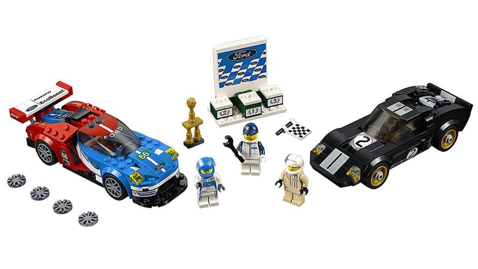 Los mejores coches de Lego por menos de 100 euros - Ford GT y GT40
