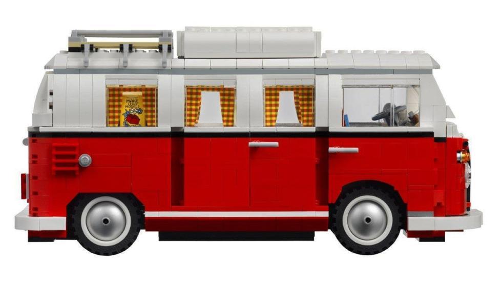 Los mejores coches de Lego por menos de 100 euros - Volkswagen T1