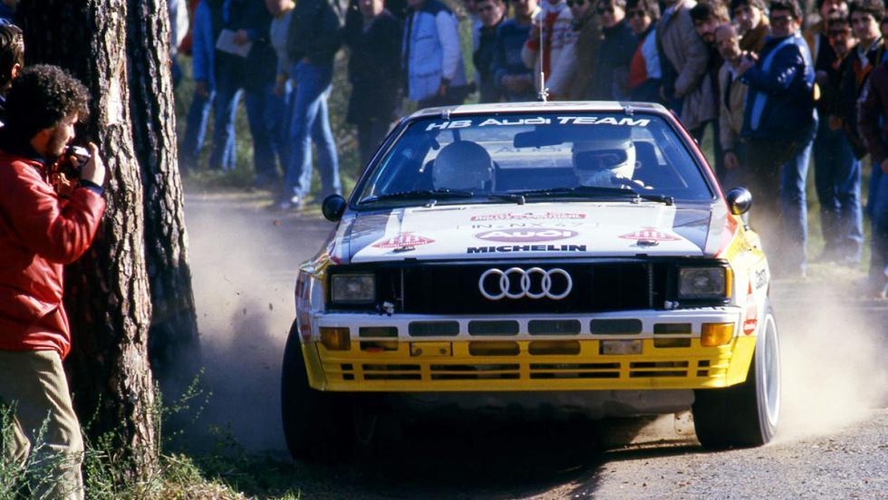 Los mejores coches de la saga V-Rally - Audi Quattro