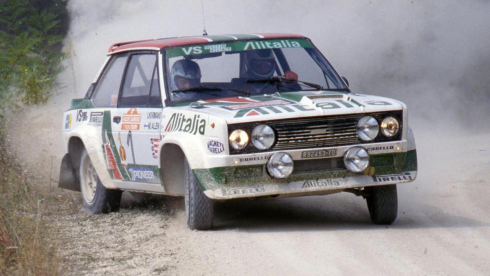 Los mejores coches de la saga V-Rally - Fiat 131 Abarth