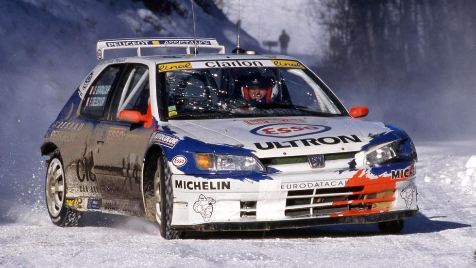 Los mejores coches de la saga V-Rally - Peugeot 306 Maxi