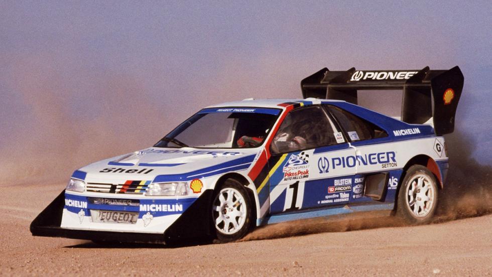 Los mejores coches de la saga V-Rally - Peugeot 405 T16