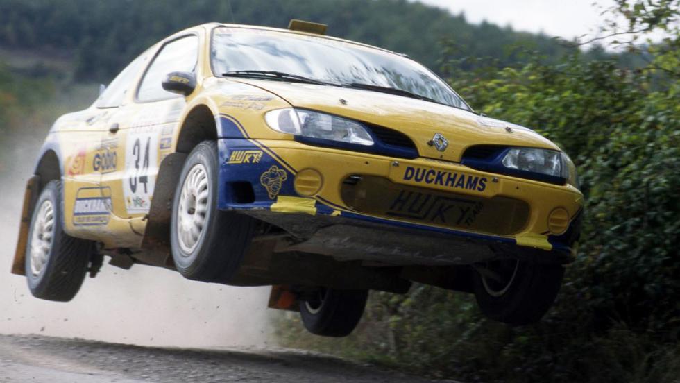 Los mejores coches de la saga V-Rally - Renault Mégane Kit Car