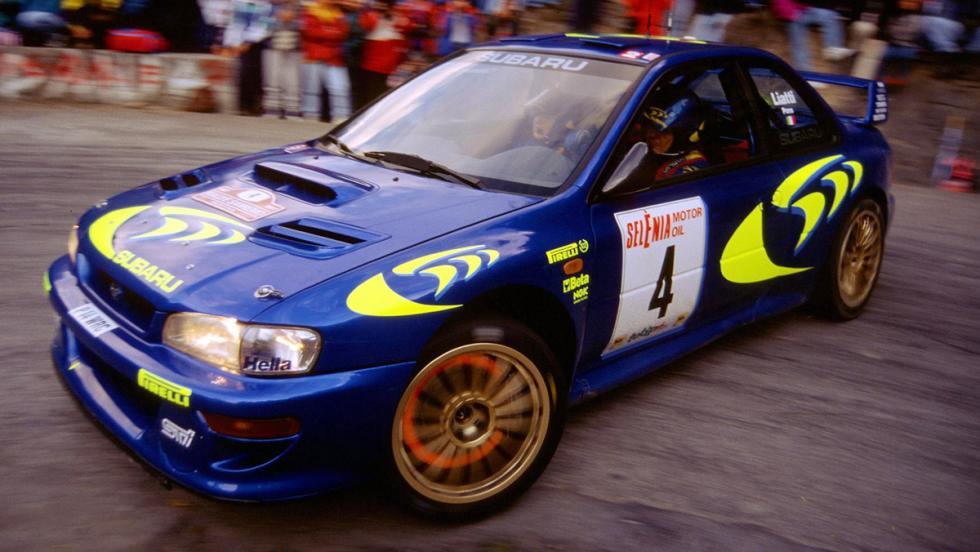 Los mejores coches de la saga V-Rally - Subaru Impreza WRC