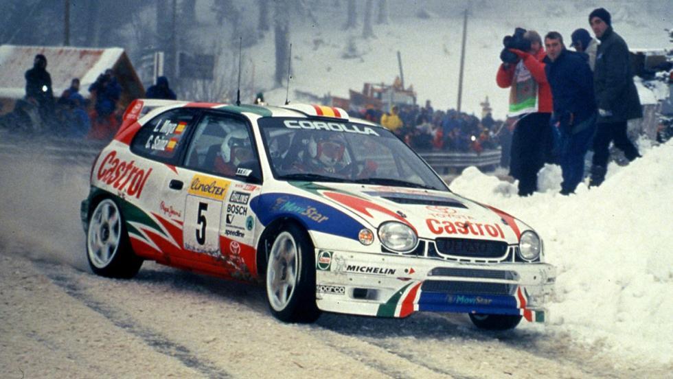 Los mejores coches de la saga V-Rally - Toyota Corolla WRC