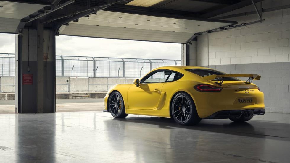 Los mejores Porsche de la Historia - Porsche Cayman GT4 (2015)