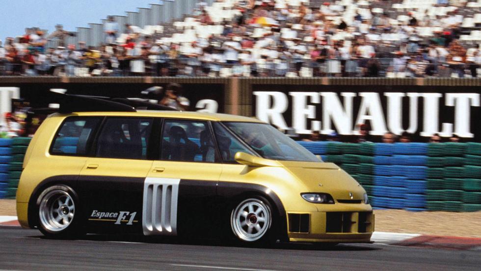 Los mejores Renault de la Historia - Renault Espace F1