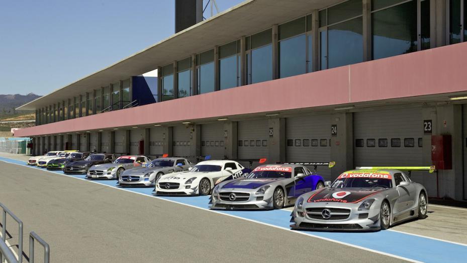 Mercedes SLS GT3 2011