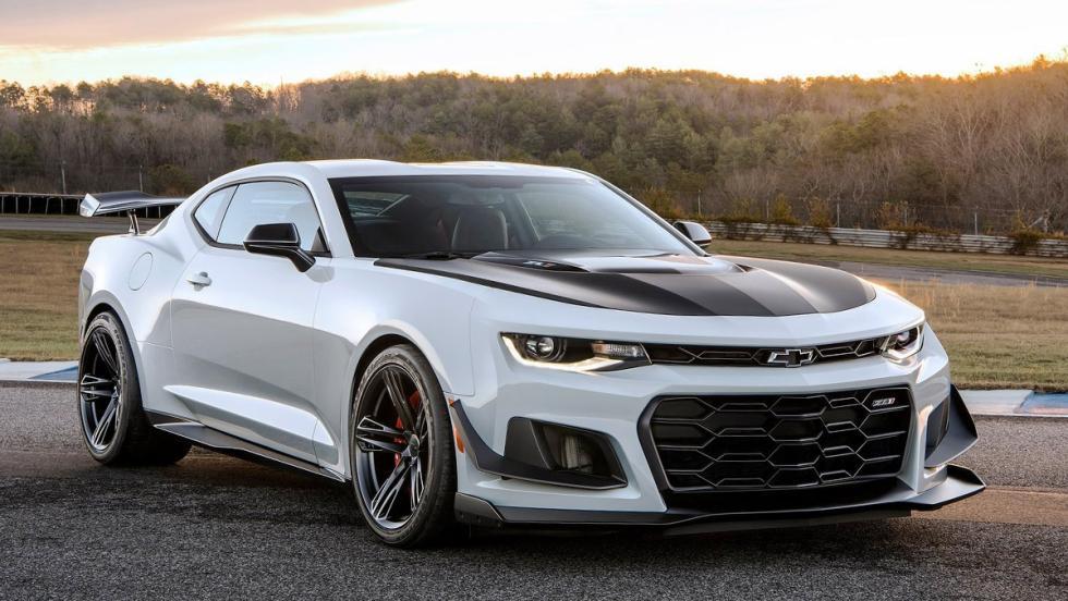Los muscle car más brutales que puedes comprar ahora mismo - Chevrolet Camaro ZL1 1LE