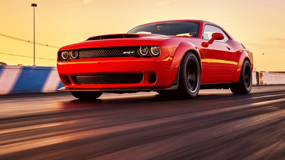Los muscle car más brutales que puedes comprar ahora mismo - Dodge Challenguer SRT Demon