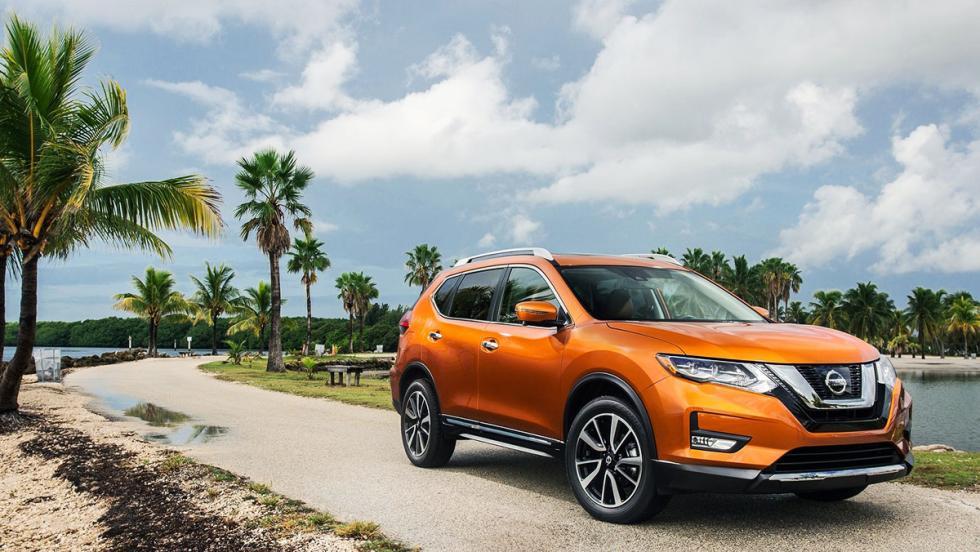 Nissan Rogue, el X-Trail estadounidense