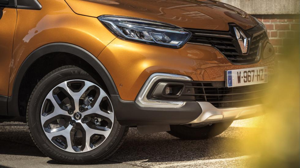 Nuevas luces de día del Renault Captur 2017