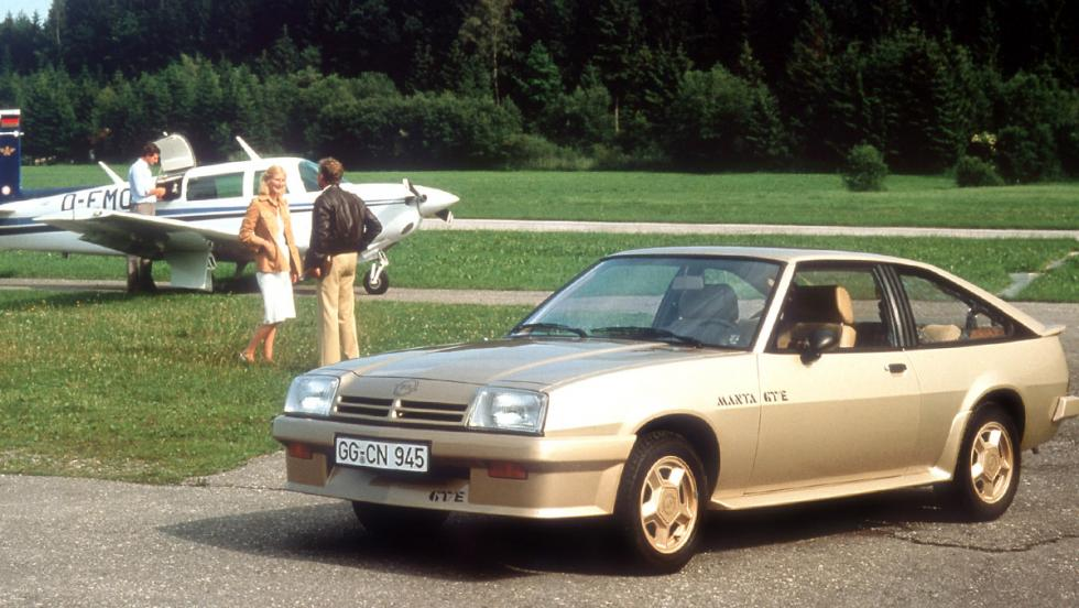 Opel Manta B CC GT/E - 1977