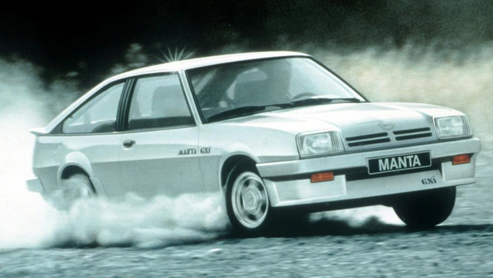 Opel Manta B2 CC GSi - 1983