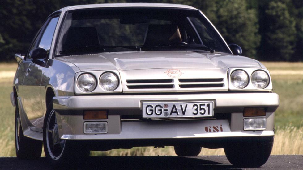 Opel Manta B2 GSi - 1983