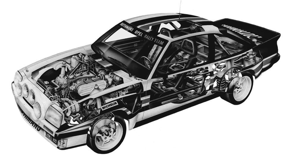 Opel Manta en competición