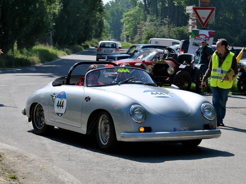 PORSCHE 356 A 1500 GT CARRERA – 1957