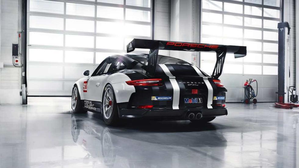 Porsche 911 GT3 Cup alerón trasero